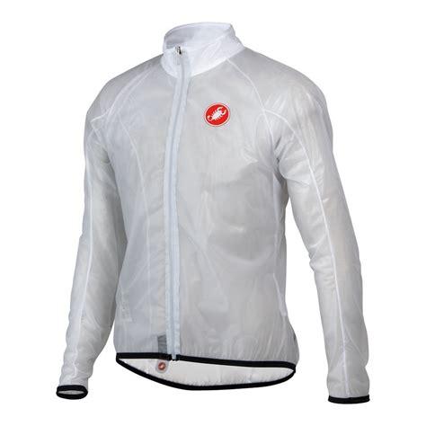 white waterproof cycling wiggle castelli sottile waterproof jacket cycling