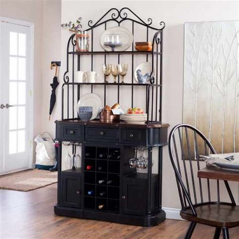 What Do You Put On A Bakers Rack by How To Decorate A Kitchen Bakers Rack 5 Tips To Do Home