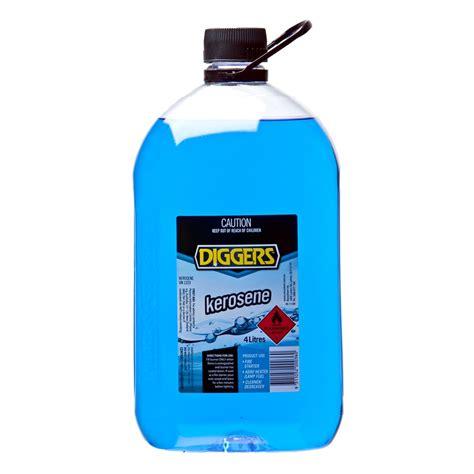 Kerosene L Diggers 4l Household Kerosene Bunnings Warehouse