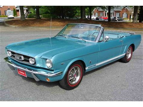 ford mustang for sale 1966 ford mustang gt for sale classiccars cc 811103