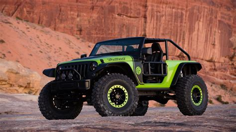 Behind The Wheel Of The Jeep Trailcat Wrangler Concept