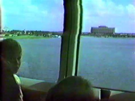 walt disney world mark iv monorail (polynesian to mk) 1987