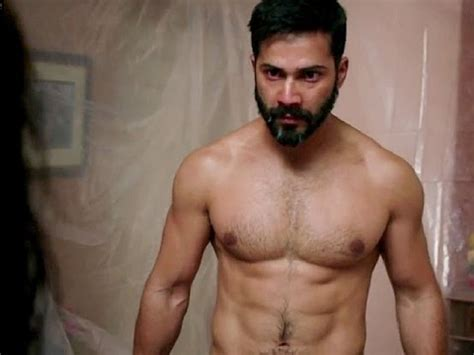 actor minimum height varun dhawan had to break 24 bottles on his body for