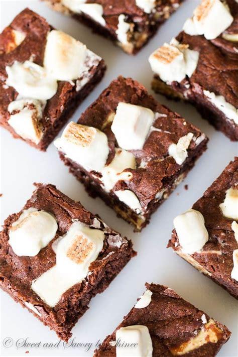 Nutella Kitkat Brownies fudgy kitkat brownies sweet savory by shinee
