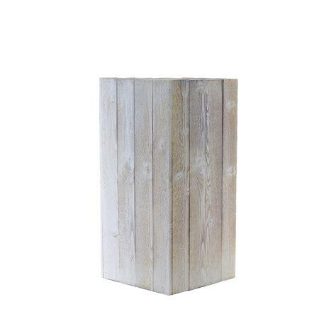 vaso in legno vaso colonna legno vasi in legno ambroso
