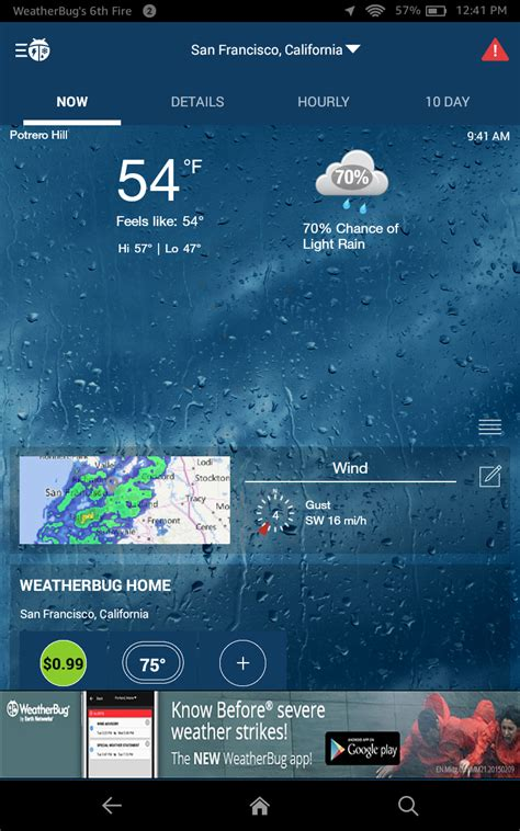 weather radar and maps for weathercom weatherbug free local weather forecast radar map