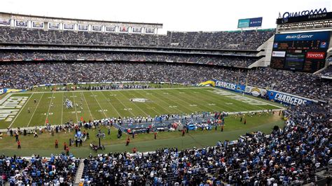 new year qualcomm stadium fans expect chargers back at qualcomm stadium next year
