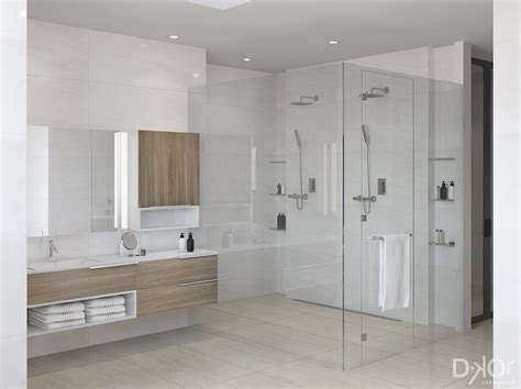 design check   modern master bathroom  coral gables