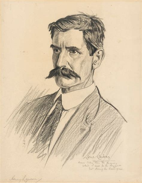 Loaded Henry Lawson by Henry Lawson National Portrait Gallery