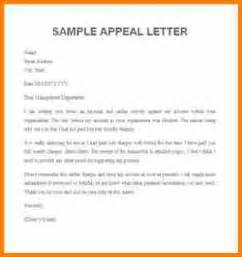 Re Appeal Letter Exle 11 Appeal Letter Exle Reimbursement Letter