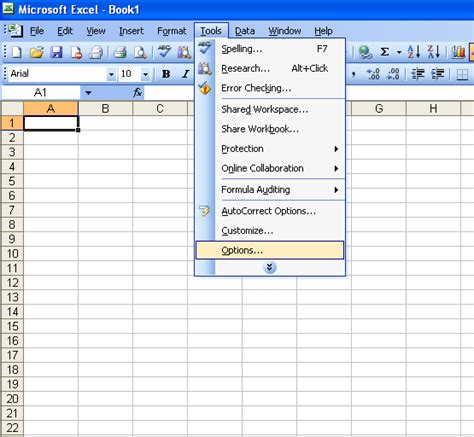 excel grid layout change the gridline color in excel 2003 microsoft office