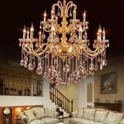 gold chandelier popular gold chandelier lights buy cheap gold chandelier