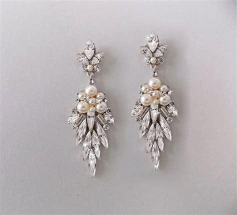 vintage pearl chandelier earrings vintage pearl chandelier earrings 28 images bridal