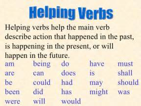 verbs and helping verbs worksheet worksheet