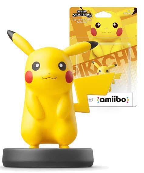 Murah Acc Amiibo Pikachu Smash Bros Series amiibo smash bros character pikachu nintendo wii u