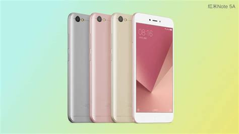 Redmi Note 5a | xiaomi unveils redmi note 5a three variants available