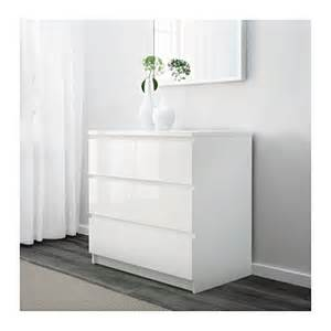 White Gloss Chest Of Drawers Ikea malm chest of 3 drawers white high gloss 80x78 cm ikea