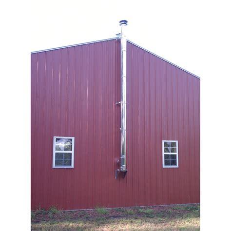 duravent duraplus throughthewall chimney kit northern