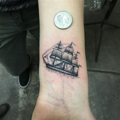 small marine tattoos ship tattoos designs ideas and meaning tattoos for you