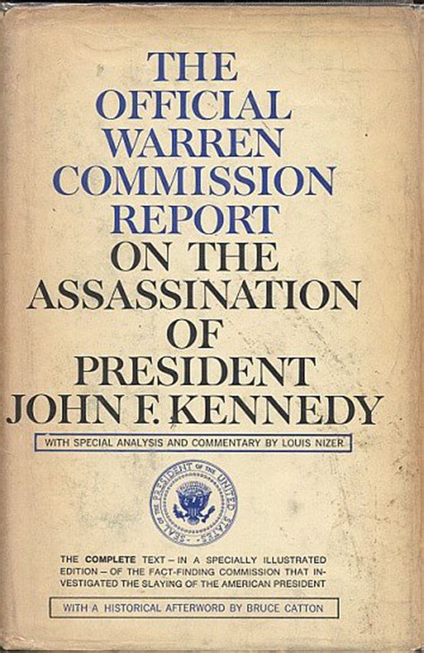 warren report book warren commission report
