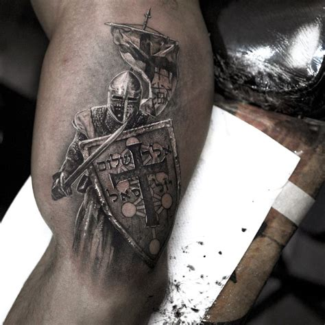 medieval knight tattoo designs best 25 ideas on templar