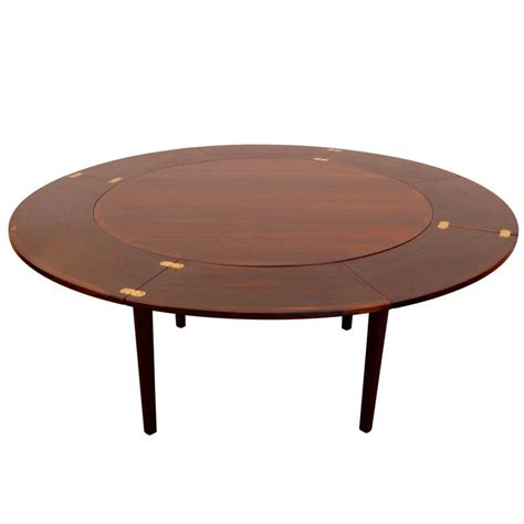 pull out dining room table dyrlund dinning table with pull out leaves at 1stdibs