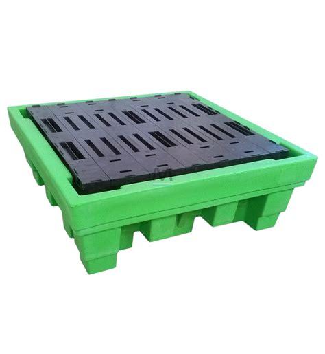 vasca in polietilene vasca di contenimento in polietilene capacit 224 4 fusti