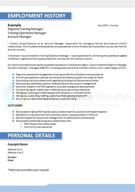 Executive Resume Sles 2016 by Resume Writing Canberra 28 Images Best Professional