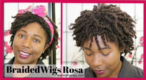is there kinky human hair for twisting braided wigs rosa afro kinky twist wig review