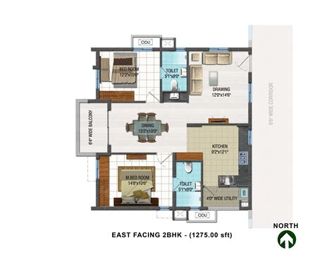 2 bhk small home design lake facing house plans printable ideas inspirations 2 bhk