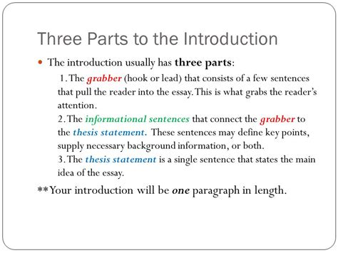 thesis in three research paper introduction ppt