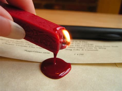 Sealing Wax fanciful faith poems and wax seals