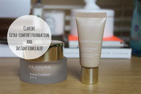 comfort foundation clarins extra comfort foundation and instant concealer a
