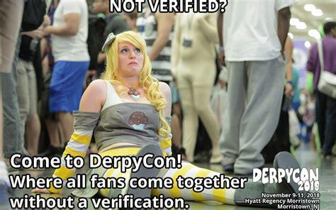 verified fan not fan verified derpycon