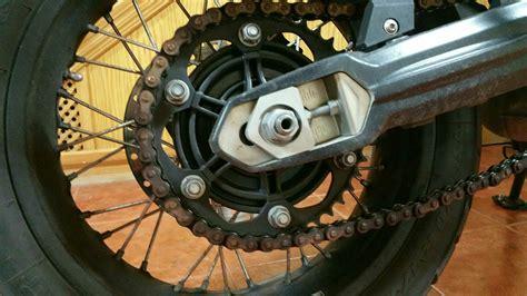 cadena moto f800gs cadena oxidada en un finde foro bmw f800gs f650gs twin