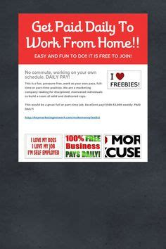 Get Paid To Work From Home Online - 1000 images about fortune 500 companies on pinterest free stuff online looking for