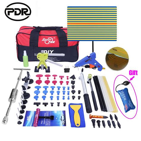Pdr Kit pdr tools kit dent removal paintless dent repair tools car