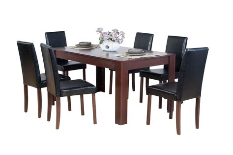 Dining Table With 6 Chairs Dover Dining Table And 6 Chairs