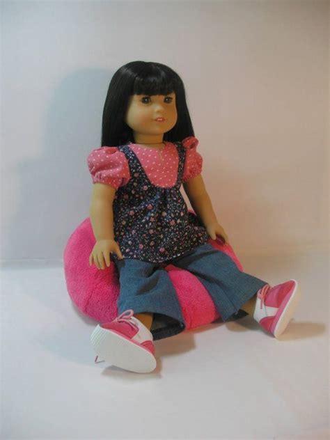ag doll bean bag chair 535 bean bag chair for american 18 inch doll bean
