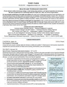 health resume sles free resumes tips