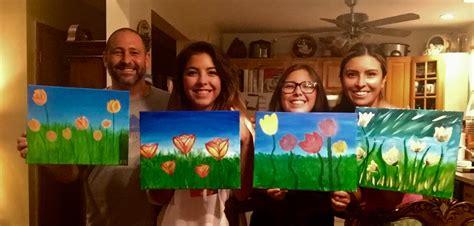 paint nite for families family paint revkevjr