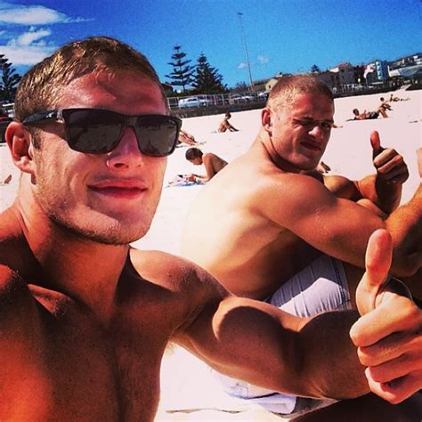 George Burgess And Other Oft Shirtless Athletes To Follow On Instagram Queerty