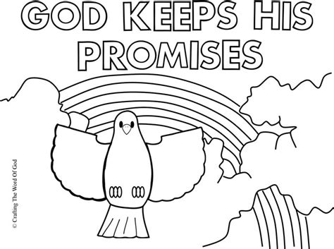 Gods Coloring Pages by God Keeps His Promises Coloring Page 171 Crafting The Word