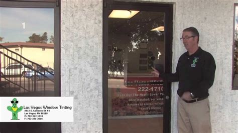 Glass Door Tinting 4 Different Glass Doors We Them All Las Vegas Window Tinting Secuirty Demo