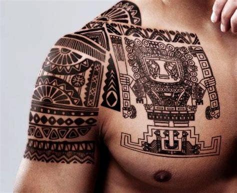 imagenes mayas tatuajes las 33 mejores ideas de tatuajes mayas y aztecas hombre y