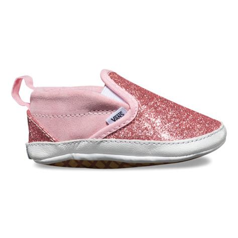Baby Vans Crib Shoes by Infant Shimmer Slip On V Crib Shoes Vans Official Store