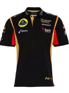 Lotus F1 Shirt Polo Shirt Formula One 1 Lotus F1 New Burn Sponsor
