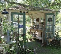images  recycled door shed  pinterest