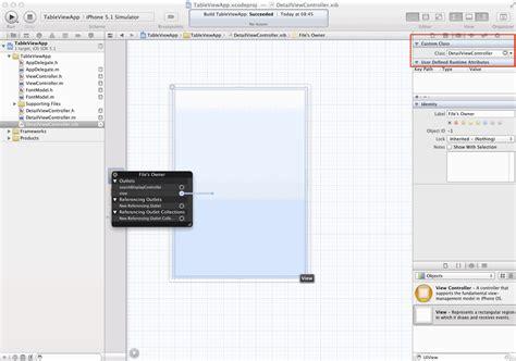 iphone xib tutorial iphone programmierung tutorial uitableviewcontroller mit