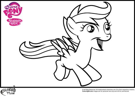 my little pony scootaloo coloring page mlp scootaloo coloring pages team colors